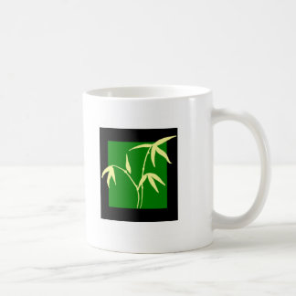 Green Plant Classic White Coffee Mug