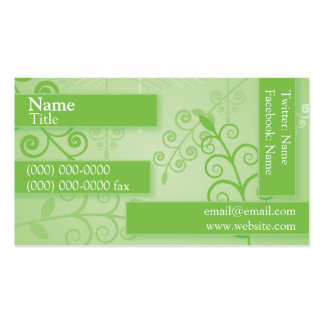 Green Plantlife Business Card