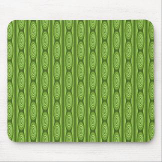 Green Plantlike Pattern Mousepads