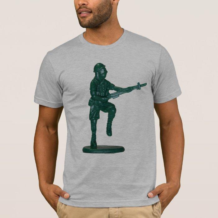 Green Plastic Army Man T-Shirt
