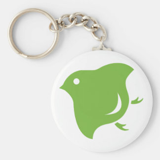 green plover keychain