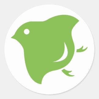 green plover sticker