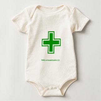 Green Plus Baby Bodysuit