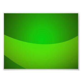 Green Pocket Photo Print