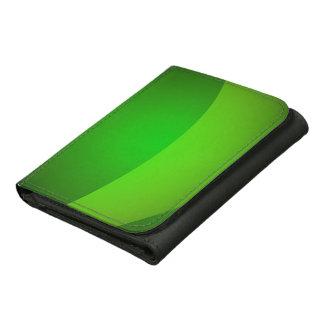 Green Pocket Leather Wallet