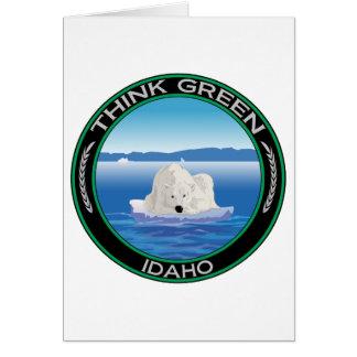 Green Polar Idaho Card