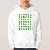 Green Polka Dots Hoodie
