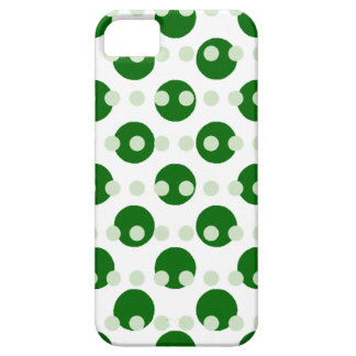 Green Polka Dots iPhone SE/5/5s Case