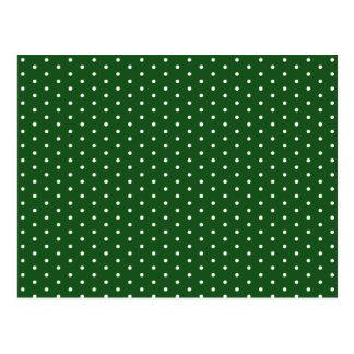 Green Polkadot Postcard