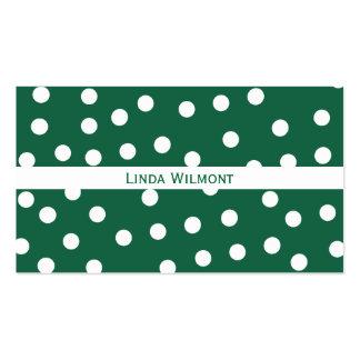 Green Polkadots Business Card