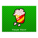 Green Popcorn Post Card