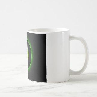 Green Power Button Coffee Mug