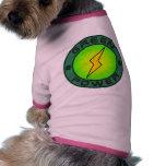 Green Power Dog T Shirt