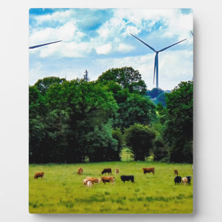 Green Power Plaque