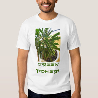 GREEN POWER SHIRT
