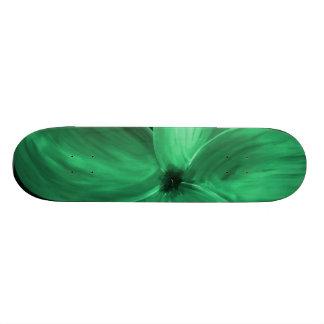 Green Power Skateboard