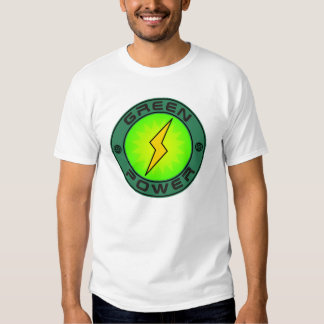 Green Power T Shirts