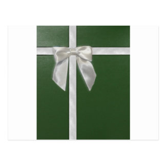 green present postcard