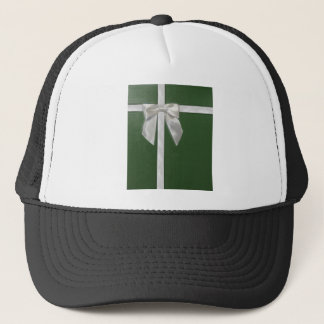green present trucker hat