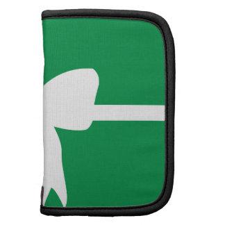 Green Present White Bow Planner