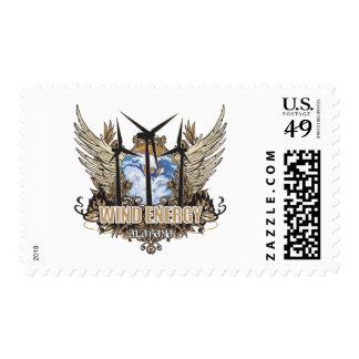 Green Pride Wind Alabama Postage Stamp