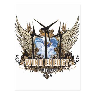Green Pride Wind Louisiana Postcard