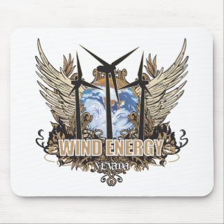 Green Pride Wind Nevada Mouse Pad