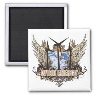 Green Pride Wind Oklahoma Magnet