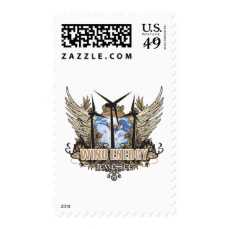 Green Pride Wind Tennessee Postage Stamps