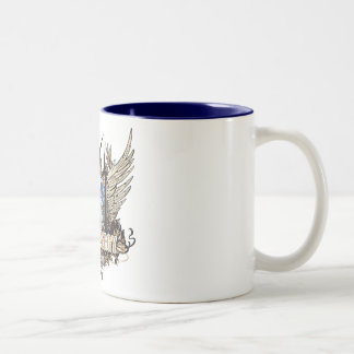 Green Pride Wind Tennessee Two-Tone Coffee Mug