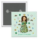 Green Princess Buttons
