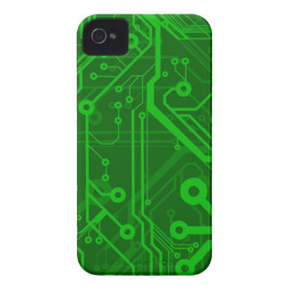 Green Printed Circuit Board Pattern iPhone 4 Cover