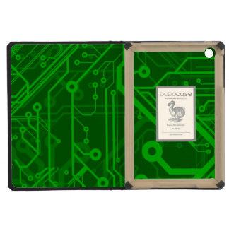 Green Printed Circuit Board Pattern iPad Mini Case