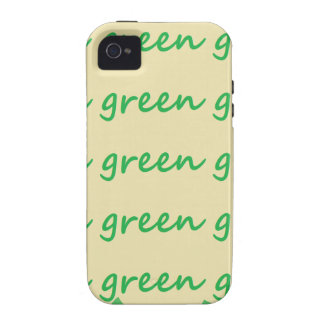 Green products iPhone 4 case
