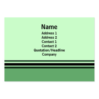 Green Professional Business Cards
