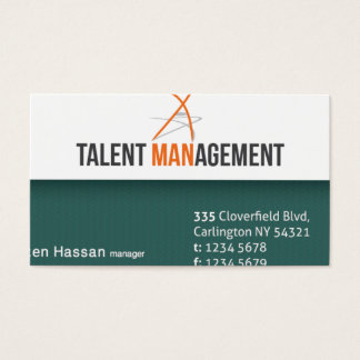 Green Professional Card Design [Ready]