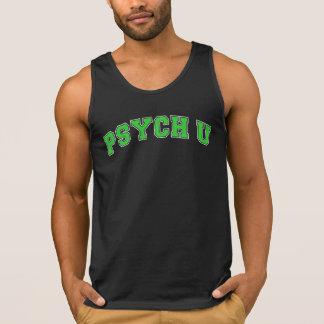 Green PSYCH U Tank Top