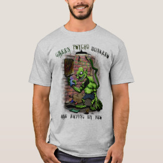 Green Psycho Monkees T-Shirt