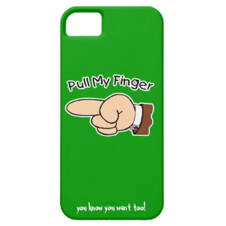 Green Pull My Finger iPhone5 Case
