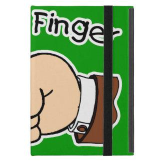 Green Pull My Finger Powis iCase iPad Mini Case