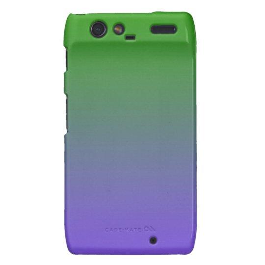 Green Purple Fade Motorola Droid RAZR Case