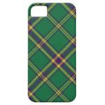 Green/Purple/Gold Tartan Plaid iPhone Case iPhone 5 Case