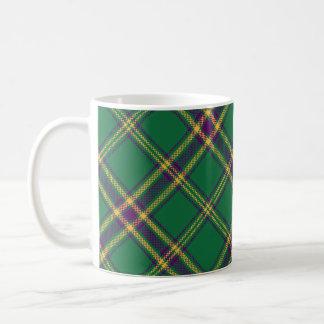 Green/Purple/Gold Tartan Plaid Mug