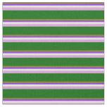 [ Thumbnail: Green, Purple, Light Cyan, Plum, and Dark Green Fabric ]