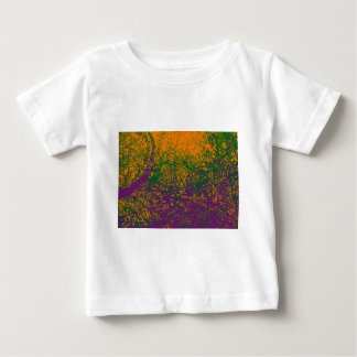 green purple orange elephant baby T-Shirt