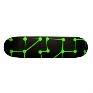 Green Pushers Skateboard
