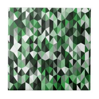 green pyramid pattern 06 ceramic tile