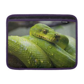 Green Python Sleeve For MacBook Air