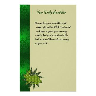 Green Rabbit Stationery