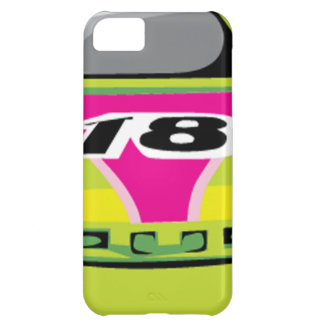 green race car cover for iPhone 5C